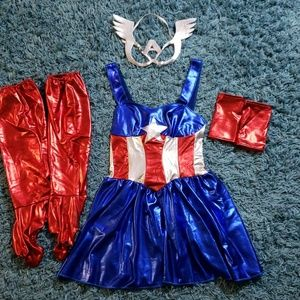 Marvel Captain America Women's Costume
